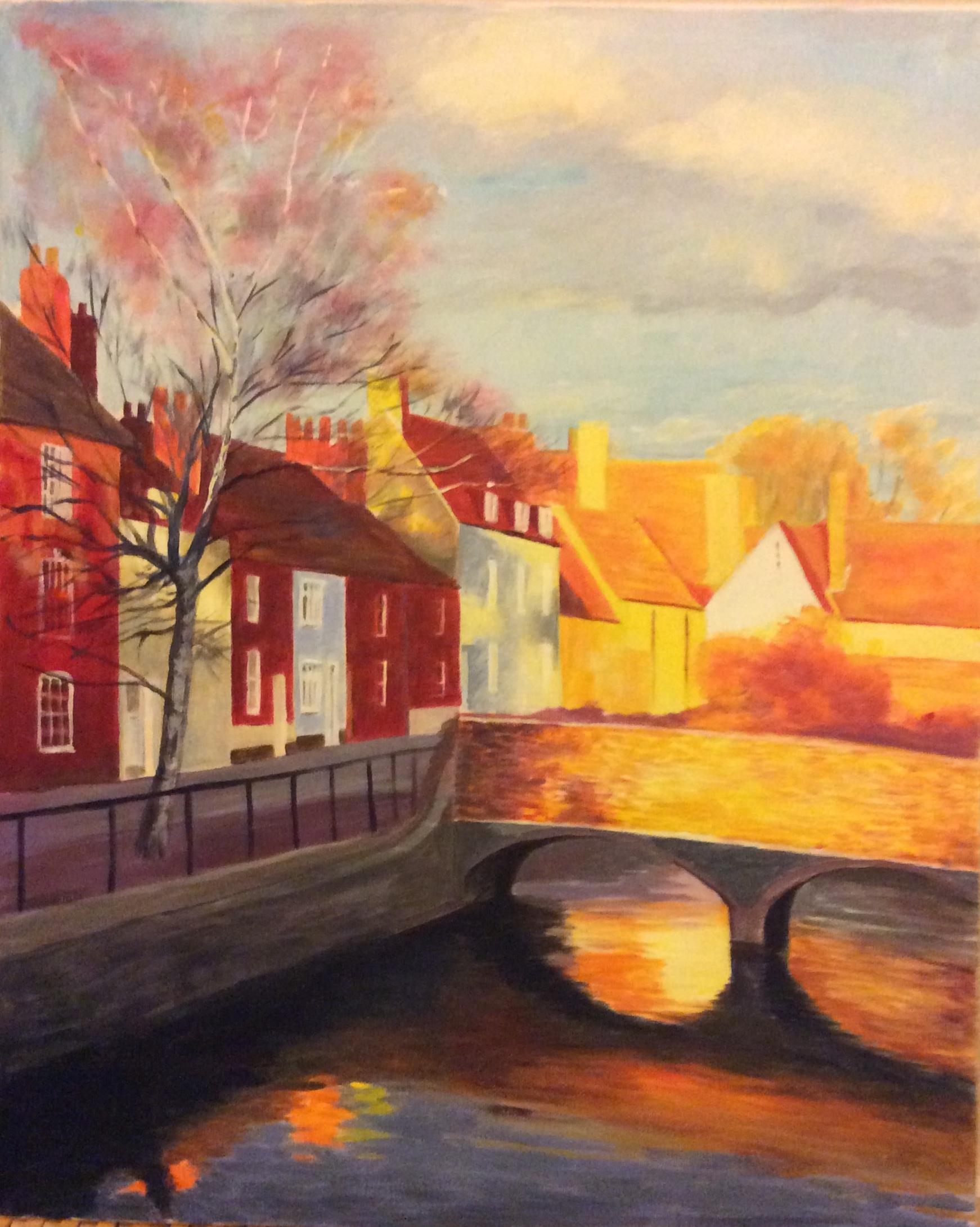 Caroline Ritson Abingdon Painting
