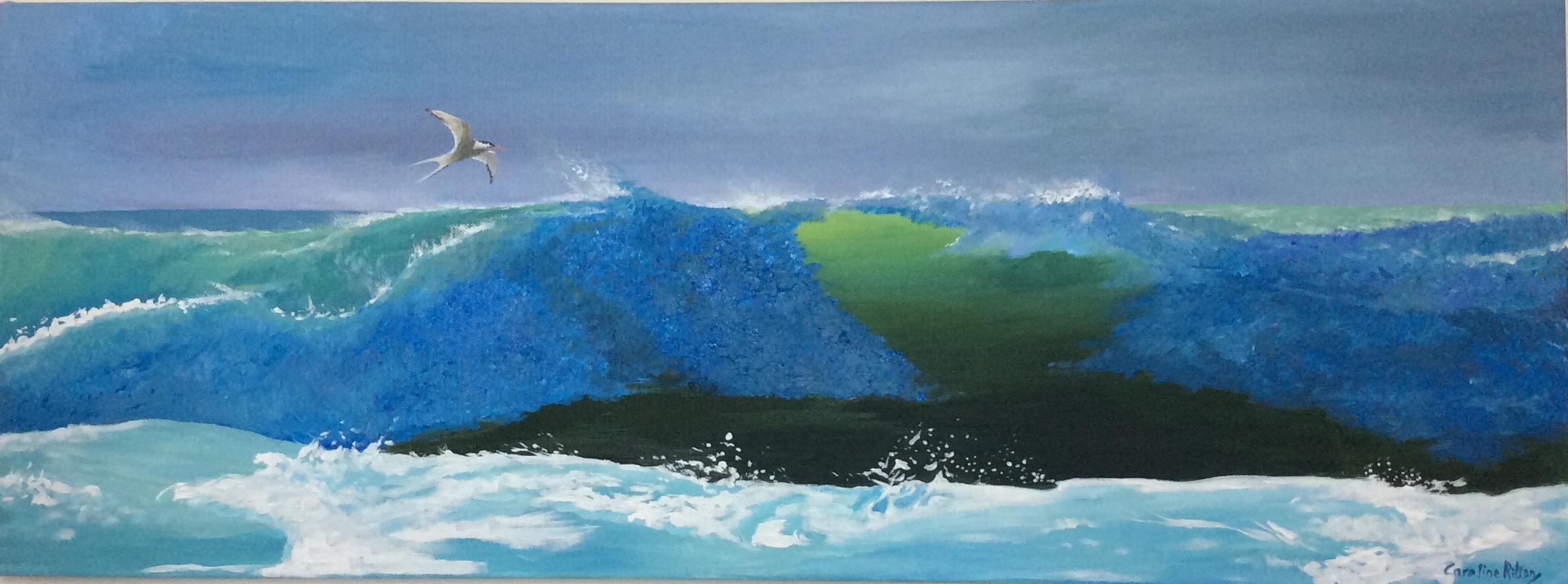 Tern seascape
